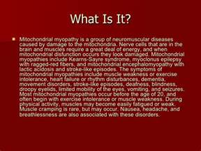 Brain Blindness Mitochondrial Myopathy