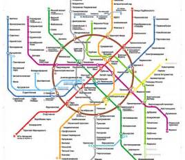 Us Metro Map by Moscow Metro Map And Usability Of Public Transportation