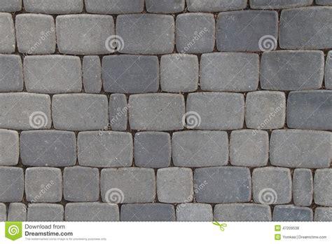 Gray Brick Pavers Pattern Of Gray Sidewalk Pavers Stock Photo Image 47209538