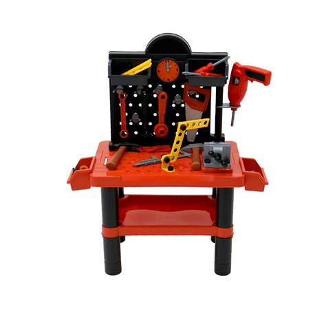 baby work bench childrens kids play toy workbench tools kit workshop