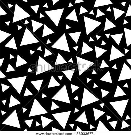 black and white random pattern small triangles pattern stock images royalty free images