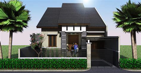 panduan bangunan rumah preliminary design renovasi rumah minimalis  jelambar