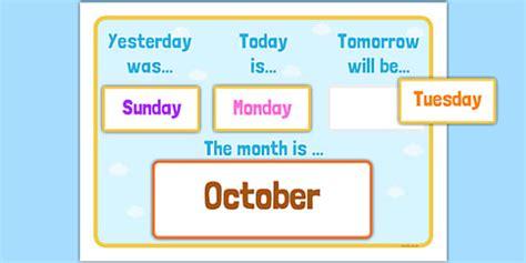 Tomorrow Calendar Tomorrow Calendar Images