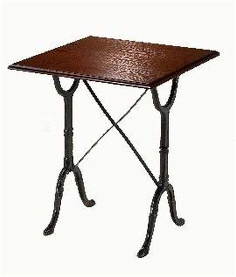 Square Bistro Table And Chairs Square Bistro Table Cast Iron Tables By Trent Furniture