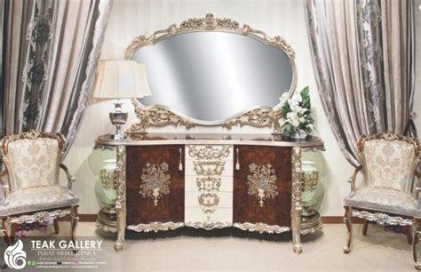 Meja Hias Ruang Tamu Buffet Hias Furniture Jepara Furniture Mewah Harga Meja