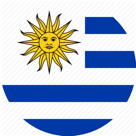 flags of the world uruguay circle circular country flag flag of uruguay flags