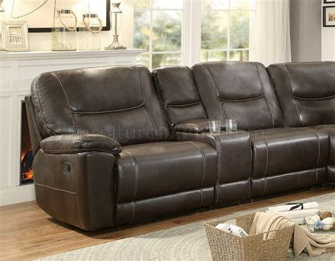 Motion Sectional Sofas Columbus Motion Sectional Sofa 8490 6lrrr By Homelegance