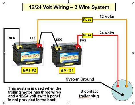 36 volt trolling motor battery wiring diagram get free