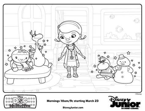 doc mcstuffins toys coloring pages 17 best images about disney coloring pages on pinterest
