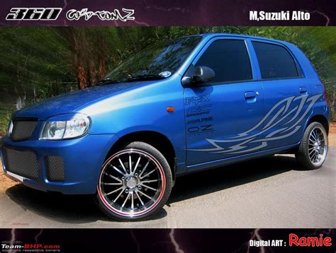 Modifications For Alto by Maruti Alto Modified