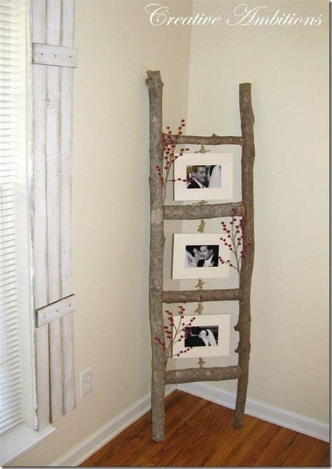 homemade home decor diy tree branch picture frames pictures photos and