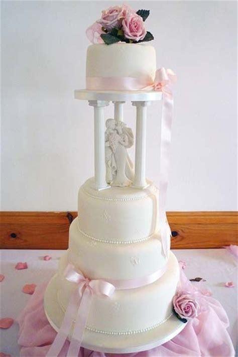 Wedding Cake Pillars by Pillar Wedding Cakes Cakes Wedding Cakes Birthday