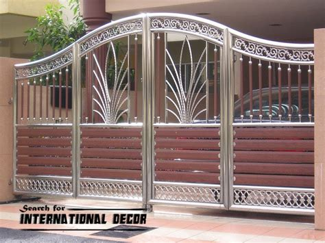 Varieties house gate design that can be appropriate for a