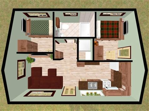 tiny house 2 bedroom cozy home plans mexzhouse com