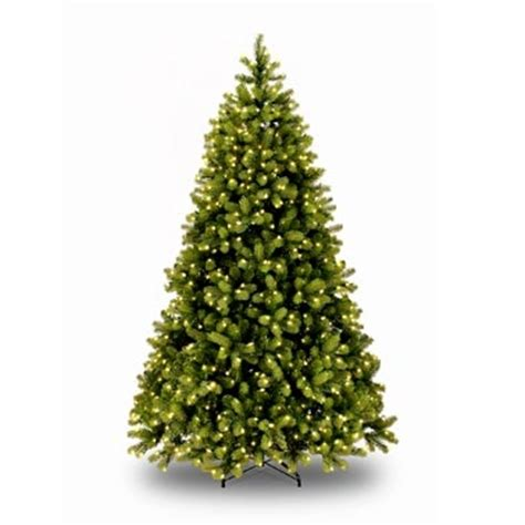 8 ft pre lit artificial christmas tree