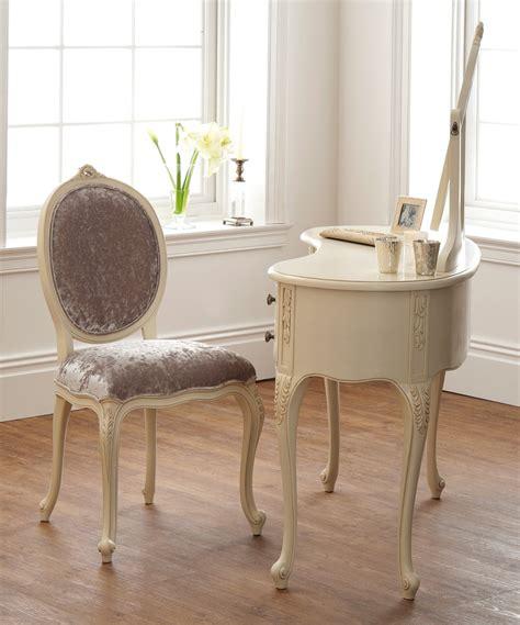 French ivory dressing table amp mirror oak furniture uk