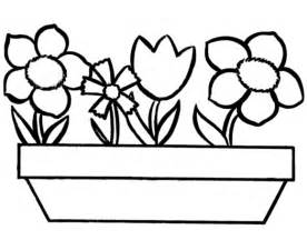flowers to color flowers to colour clipart best