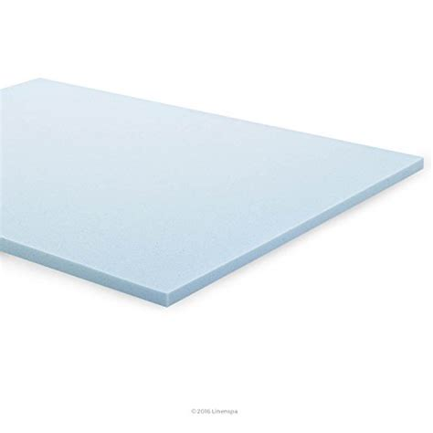 2 Inch Gel Memory Foam Mattress Topper by Linenspa 2 Inch Gel Infused Memory Foam Mattress Topper
