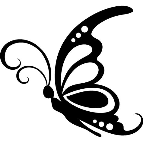 svg pattern sle sticker grand papillon butterfly silhouette and stenciling