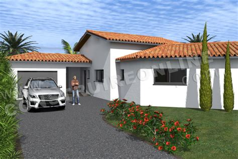 Garage Maison Moderne Interieur by Plan De Maison Moderne Novela