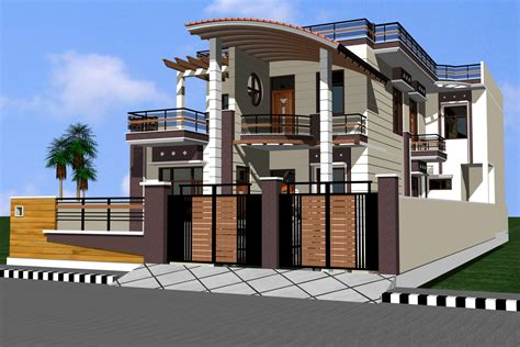 Main Door Designs For Indian Homes by Front Elevation Gharexpert