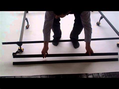 Sealy Posturepedic Bed Frame Set Up Instructions Youtube Sealy Posturepedic Bed Frame