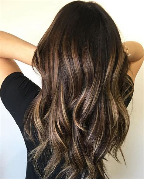 hairstyles 2017 balayage these beautiful brown hair color with highlights you ll