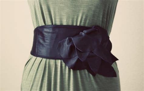 leather flower 10 beautiful diy belts fashion