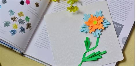 how to make green card easy diy card how to make quilling flower greeting cards