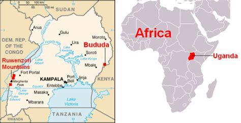 africa map uganda 5 places you didn t you could ski unofficial networks