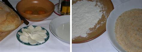 ingredienti mozzarella in carrozza mozzarella in carrozza al forno in cucina con zia lora