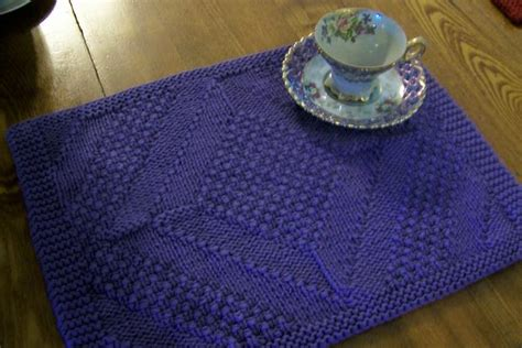 free knitting patterns for table runners really reversible placemats table runners collection