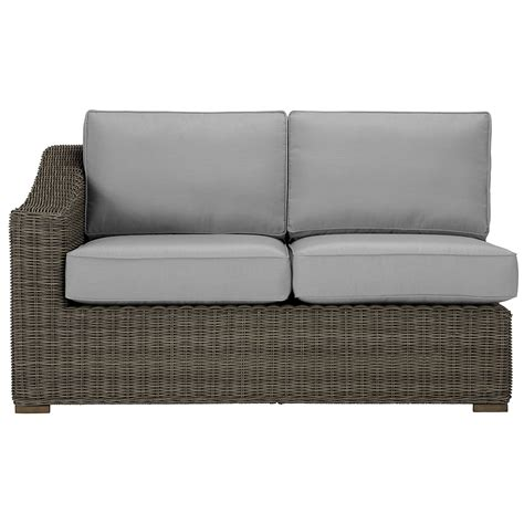 large gray sectional city furniture canyon3 gray large right sectional