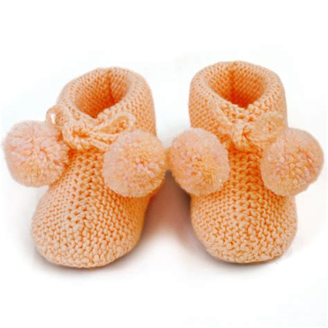 knitted baby shoes knitted baby bootie knit baby socks newborn booties wool