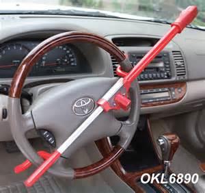 Steering Wheel Locks Up Car Shuts Steering Wheel Lock Pattaya Thailand Motor Forum