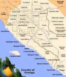 map of beaches in orange county laguna california
