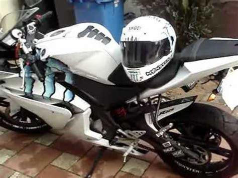 Aufkleber Für Yamaha Yzf R125 by Yamaha Yzf R125 Youtube