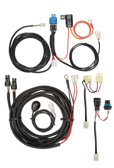 narva 12v driving light wiring harness led 30a fuse