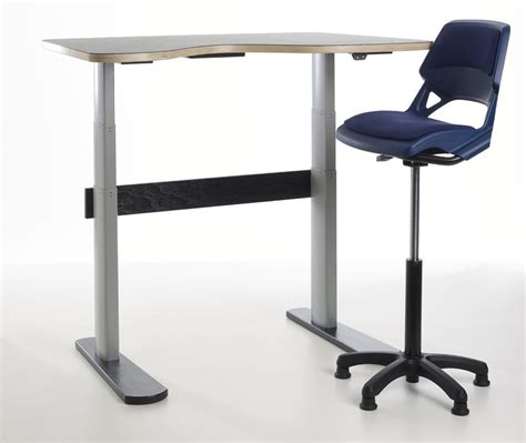 aalborg sit stand adjustable desk for classrooms and