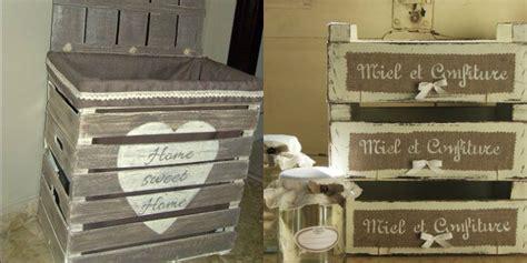 mobili con cassette di legno arredare con le cassette di legno roba da donne