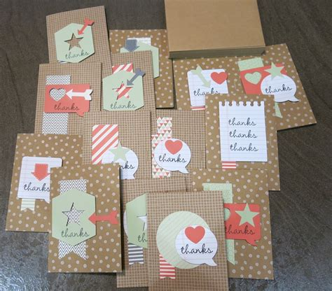 easy thank you cards to make easy thank you cards rv crafting