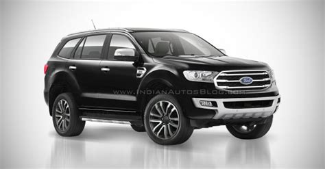 facelifted ford endeavour   launched  india  early  report