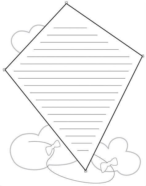 kite template 18 download in pdf illustration psd word