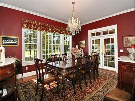 red dining room ideas indoor formal dining room decorating ideas with red wall