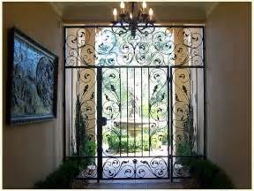 Sliding Patio Storm Door Wrought Iron Doors Wrought Iron Doors Designs Wrought