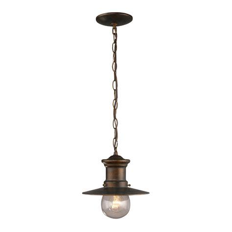 Elk Light Fixtures Elk Lighting 42007 1 Maritime Traditional Outdoor Hanging Light Elk 42007 1