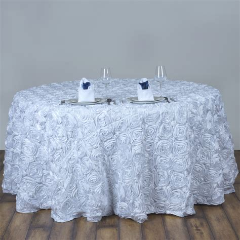 pattern tablecloths rosette rose pattern round tablecloth