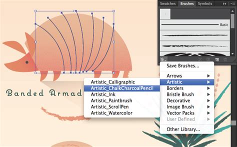 illustrator pattern brush corners tutorial work with brushes in illustrator adobe illustrator cc