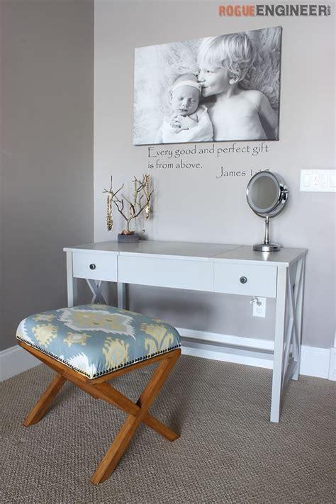 flip top vanity rogue engineer diy plans diy furniture