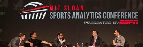 Sports Analytics Mba by The History Of The Mit Sloan Sports Analytics Conference